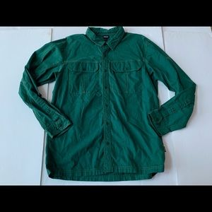Patagonia Button Down Hiking Heavy Duty Shirt